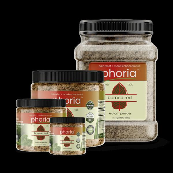 Phoria Borneo Red Vein Kratom Powder