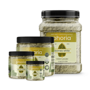 Phoria Borneo White Vein Kratom Powder