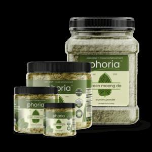 Phoria Green Maeng Da Kratom Powder