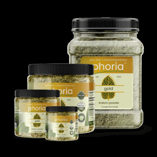 Phoria Gold Kratom Powder