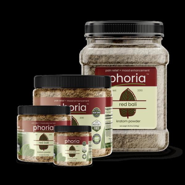 Phoria Red Bali Kratom Powder