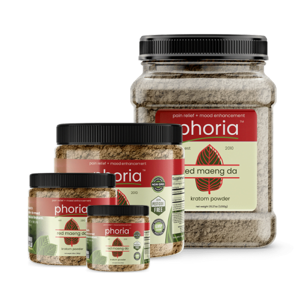 Phoria Red Maeng Da Kratom Powder