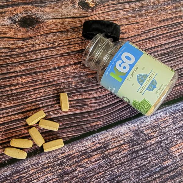 Phoria K60 Kratom Extract Tablets
