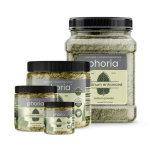 Phoria Platinum Enhanced Kratom Powder