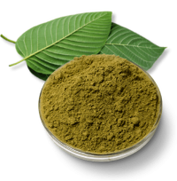 Kratom Leaf and Kratom Powder