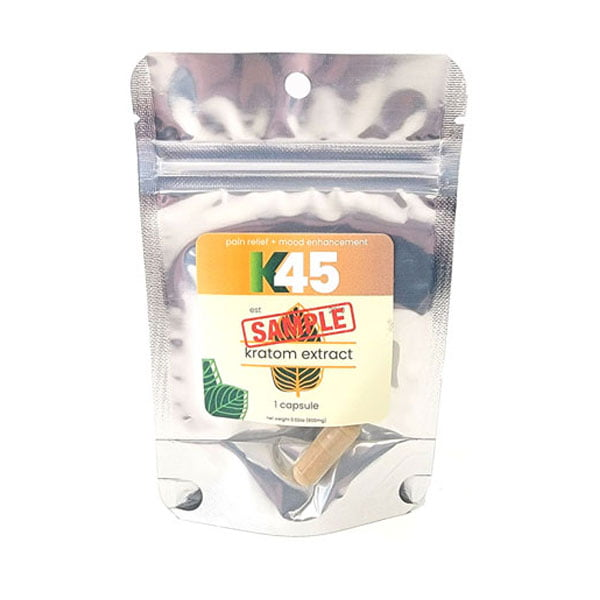 Free K45 Kratom Extract Capsules