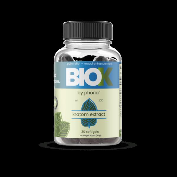 Phoria BioK Kratom Extract Soft Gels